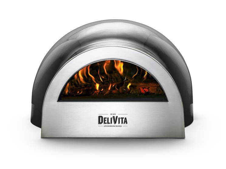 DeliVita Wood-Fired Oven – Making Pizza with Wood-Fire