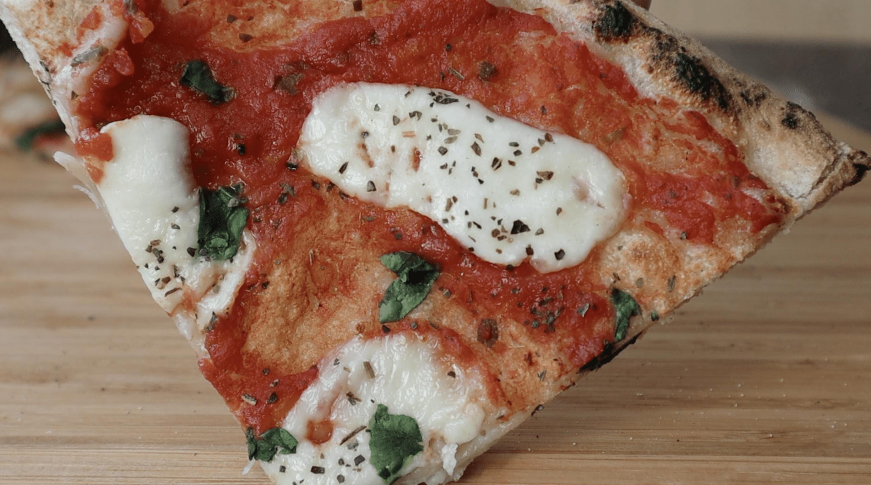 Slice of Mozzarella Pizza