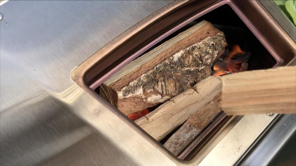 Wood-fired Ooni Karu
