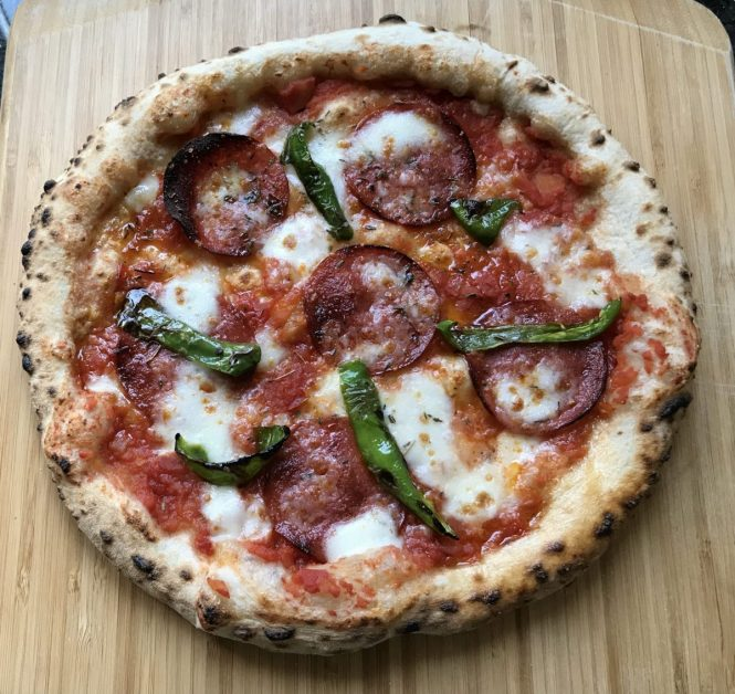 Making IPA Beer Pizza Dough and Cooking it in the Ooni Koda 16 Pizza Oven