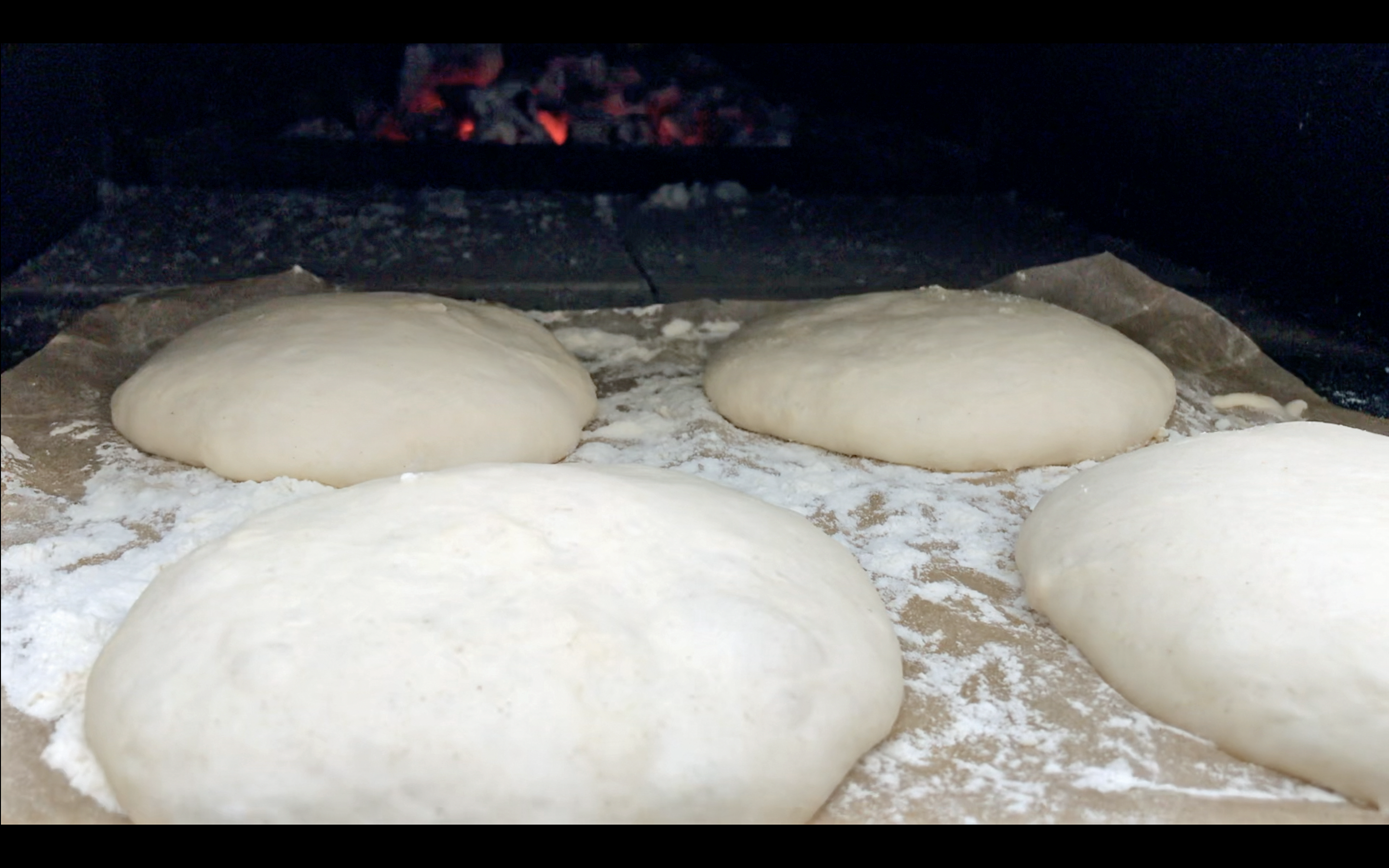 HOW TO MANAGE STICKY PIZZA DOUGH….?