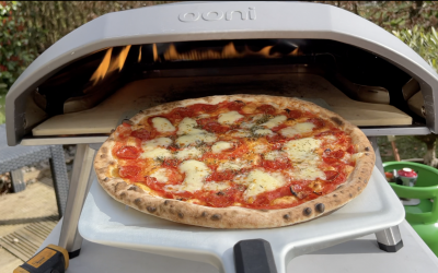 How to Make a 14 inch Sausage Pizza using the Ooni Koda 16 Pizza Oven