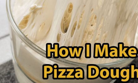 How I Make Pizza Dough for Outdoor Pizza Ovens.